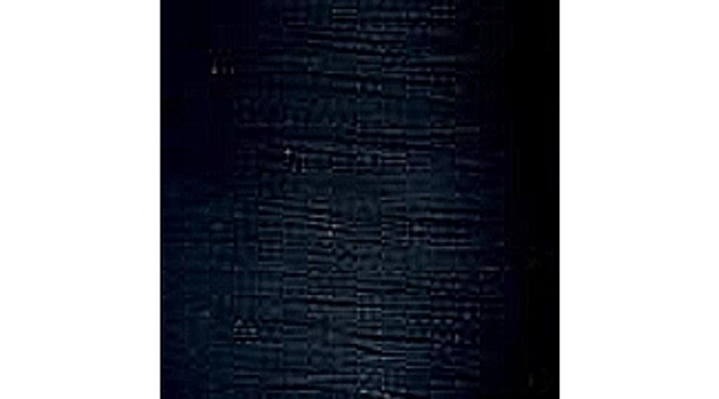 Chainette Fringe: Black