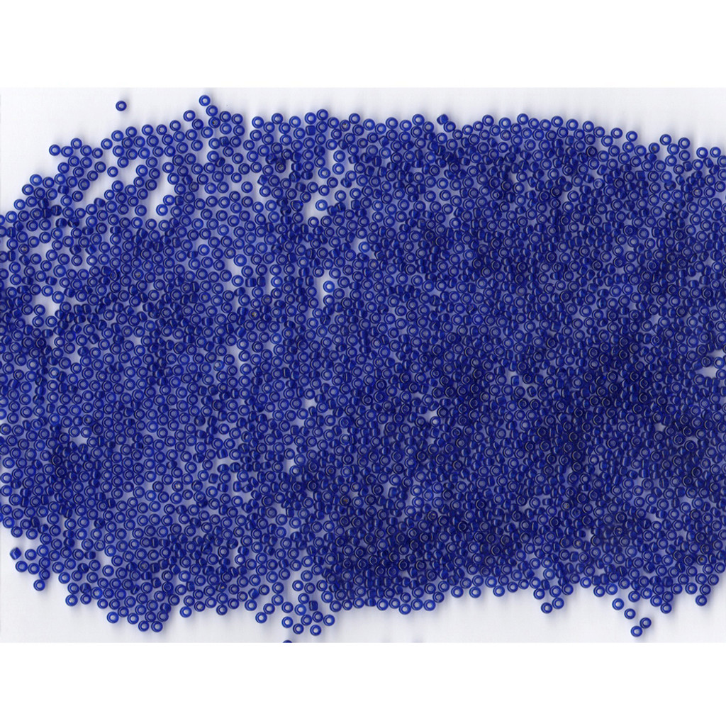 Venetian Glass Beads Blue 1 Transparent: Size 11/0