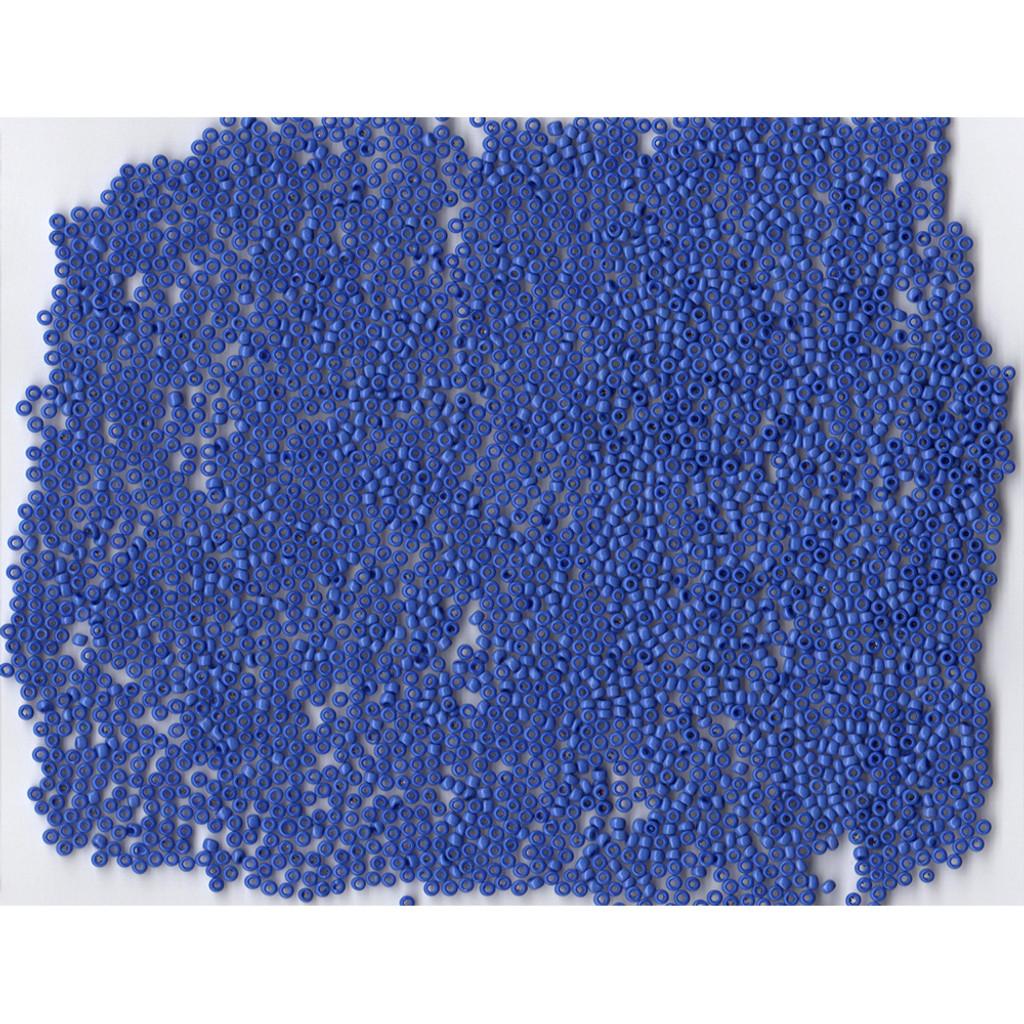 Venetian Glass Beads Navy Blue 3 Opaque: Size 11/0