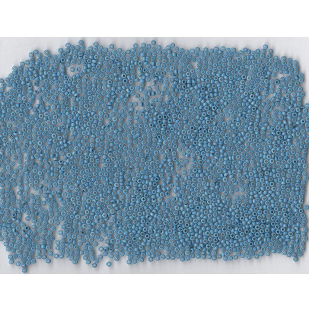 Venetian Sky Blue 2 Opaline Glass Bead: Size 11/0