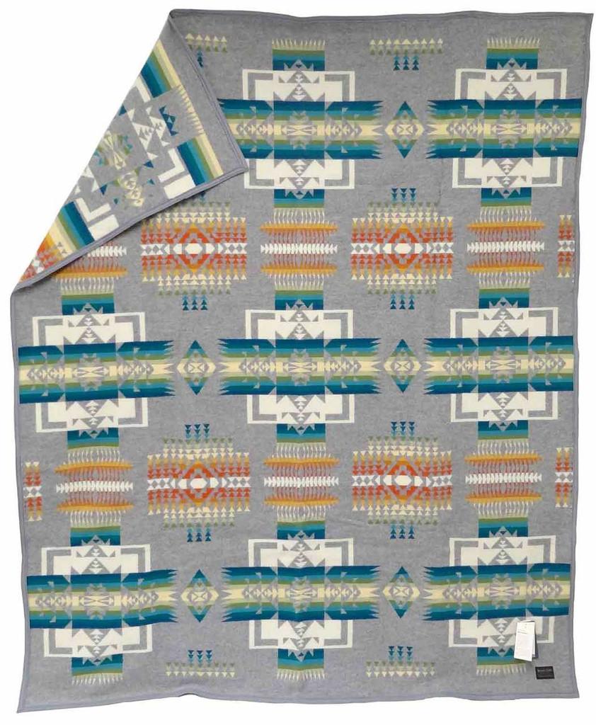 Pendleton Blanket: Chief Joseph Collection, Grey
