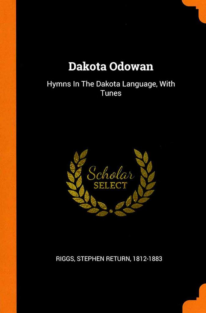 Dakota Odowan -front cover