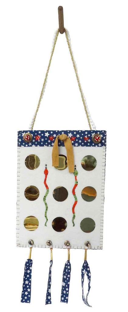 Native American Hand Made Bag: Greed - Side 2