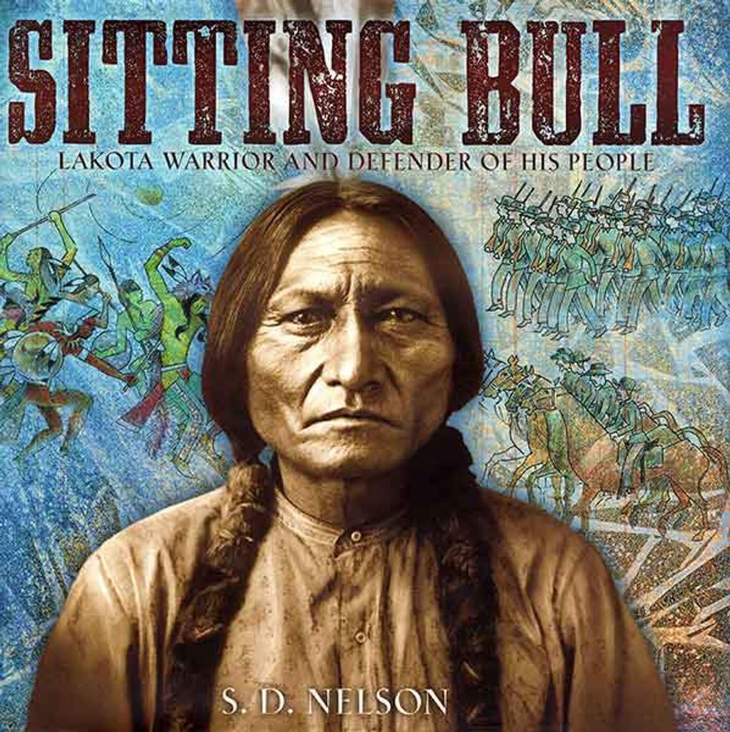 Sitting Bull children's book cover