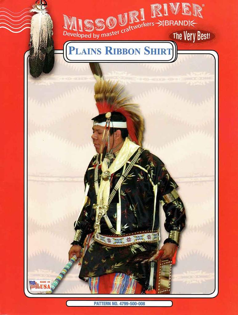 Plains ribbon shirt front