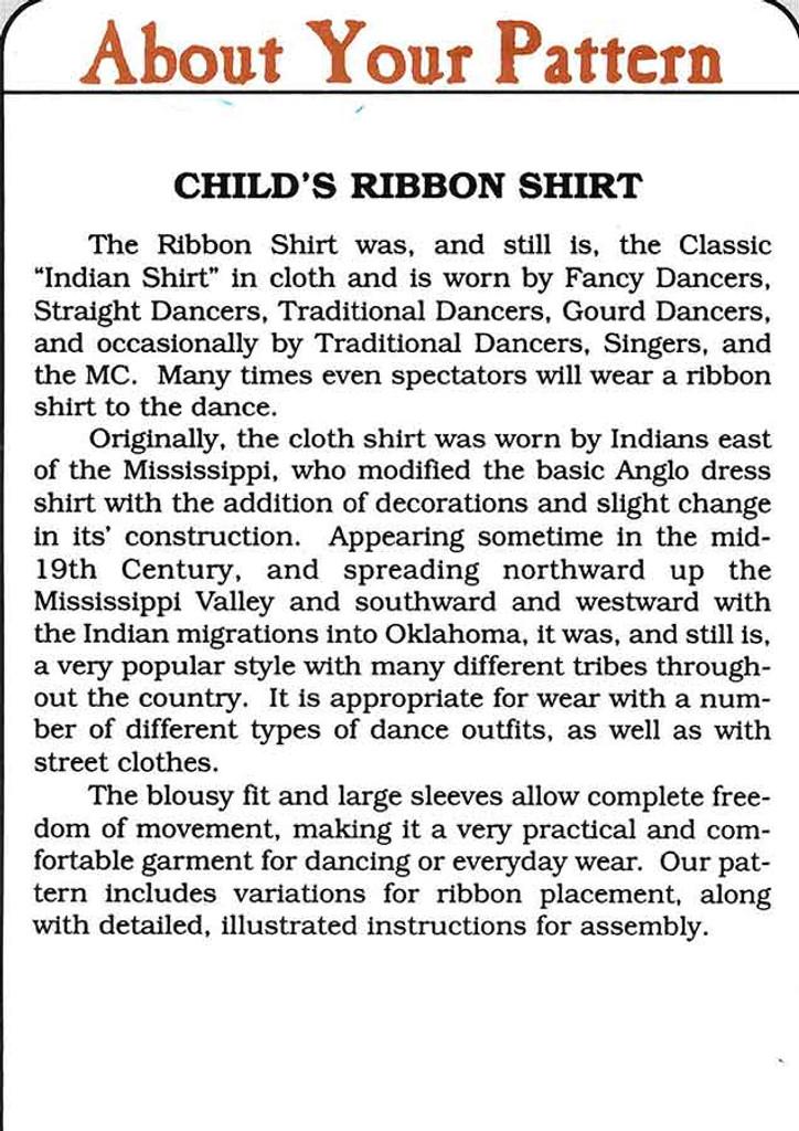 child ribbon shirt back 1
