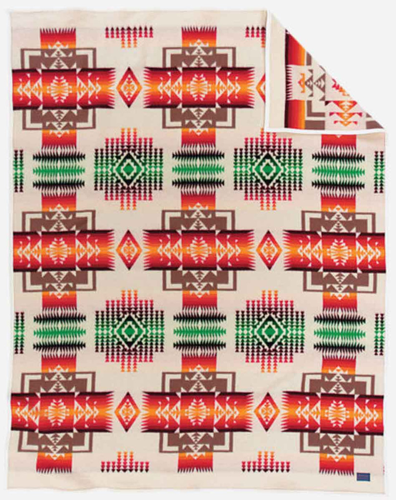 Pendleton Blanket: Chief Joseph Collection, Ivory