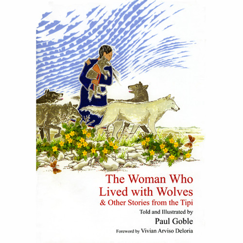 The Woman Who Lived With Wolves - Children's Book