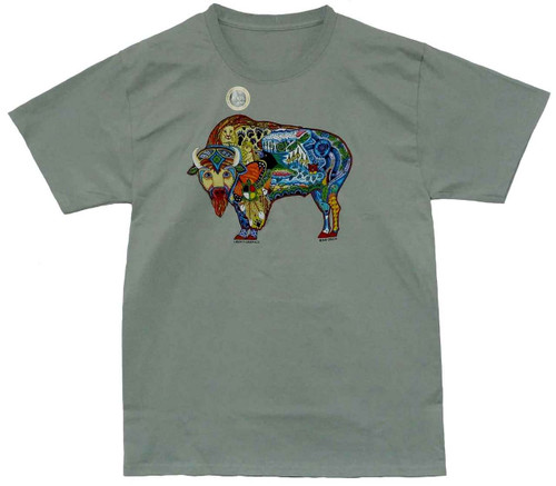 Earth Buffalo Tee