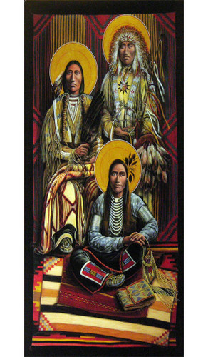 Archangels Michael, Gabriel and Raphael | Father John Giuliani | print