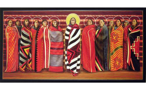 Jesus and the Disciples | Father John Giuliani | print