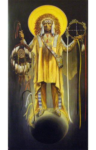 Archangel Michael   Father John Giuliani   print