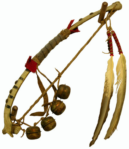 Black War Bonnet Dance Rib