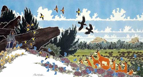 On the Ridge | Paul Goble | print