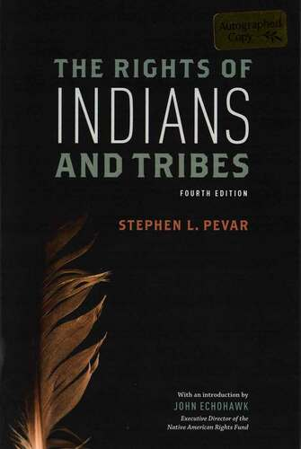 Book: The Rights of Indians and Tribes