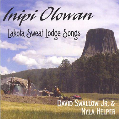 David Swallow Jr. & Nyla Helper - Inipi Olowan Ceremonial CD