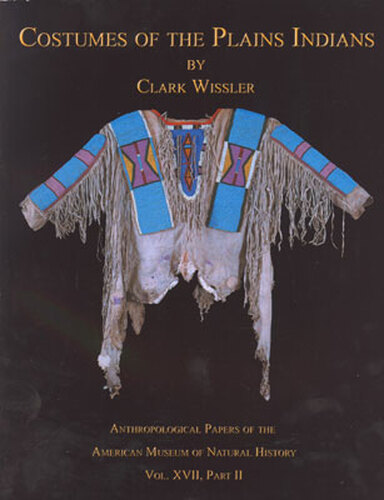 Costumes Of The Plains Indians Book