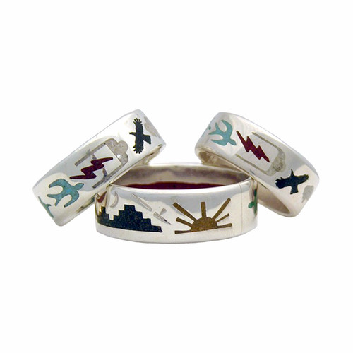 Native American Made, Circle Of Life Ring