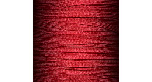 Flat Fringe: Dark Red