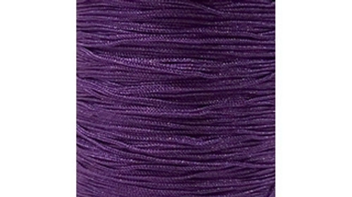 Chainette Fringe: Purple
