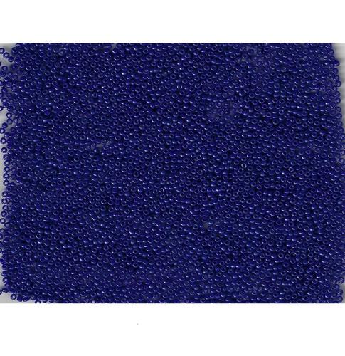 Venetian Glass Bead Blue 1 Translucent: Size 10/0