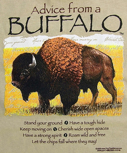 Advice From A Buffalo Tee