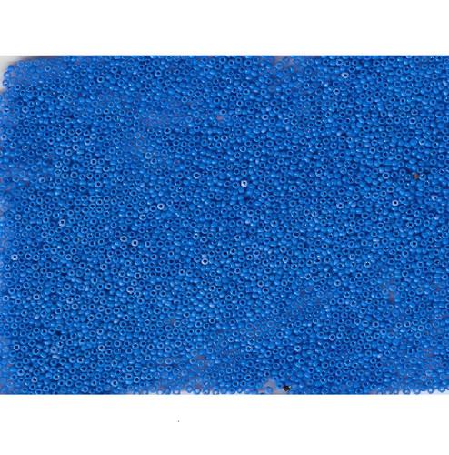 Venetian Blue 7 Opaline Glass Bead: Size 11/0