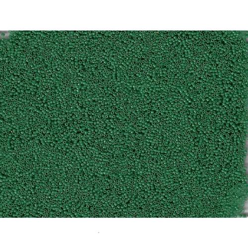 Venetian Glass Beads Green 9 Translucent: Size 12/0