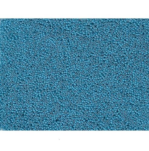 Venetian Glass Bead Turquoise 6 Translucent: Size 11/0