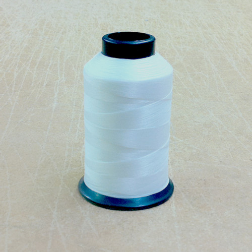 White Nylon Beading Thread (Cone)