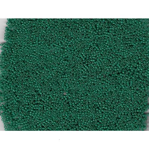 Venetian Glass Beads Pine Green 6 Translucent: Size 11/0