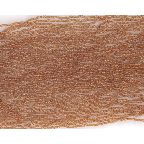 Czech Topaz Transparent Glass Bead (156): 10/0