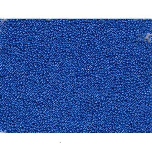 Venetian Blue 14 Opaque Glass Bead: Size 10/0