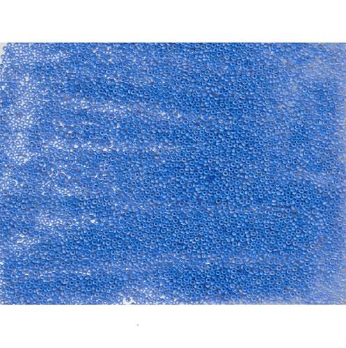 Venetian Blue 9 Opaline Glass Bead : Size 11/0