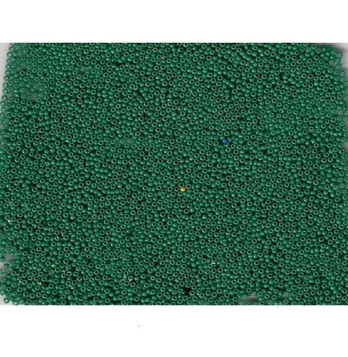 Venetian Glass Beads Green 5 Translucent: Size 11/0