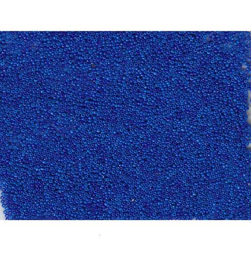 Venetian Blue 1 Opaline Glass Bead: Size 11/0
