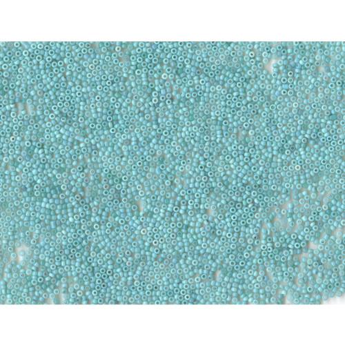 Venetian Aquamarine 1 Opaline Glass Bead: Size 11/0