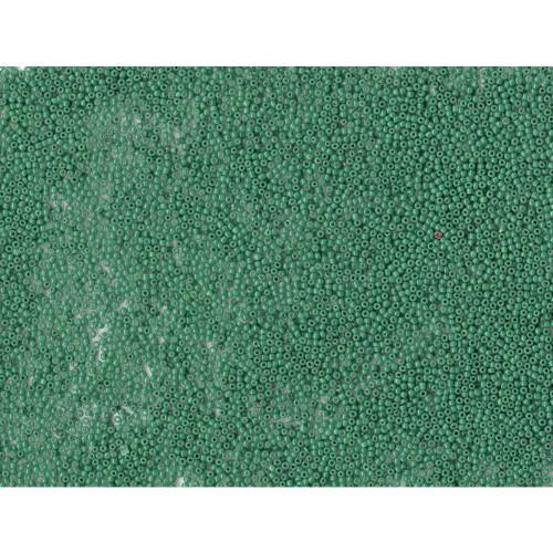 Venetian Glass Beads Pine Green 5 Translucent: Size 12/0