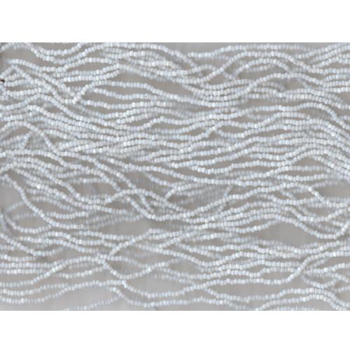 Venetian Glass Bead White 2 Opaline: Size 11/0