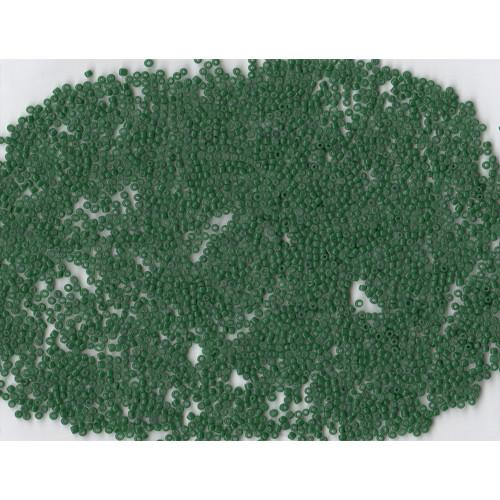Venetian Glass Beads Forest Green 25 Translucent: Size 11/0