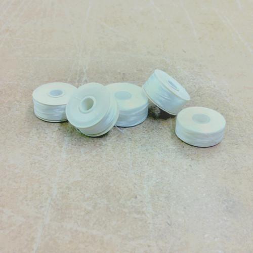 White Nylon Beading Thread (Bobbins)