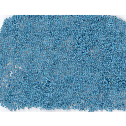 Venetian Turquoise 1 Opaque Glass Bead: 12/0