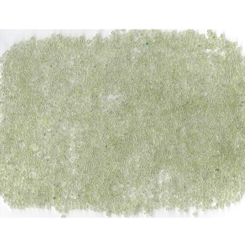 Venetian Glass Beads Spring Green 1 Transparent: Size 11/0