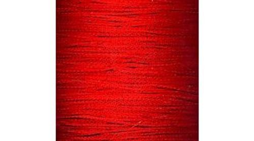 Chainette Fringe: Bright Red