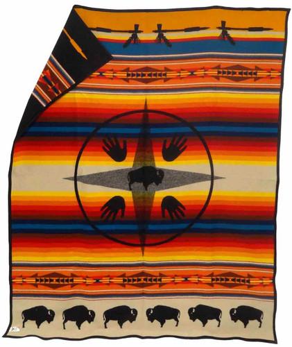 Pendleton Blanket: Big Medicine - Black