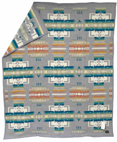 Pendleton Blanket: Chief Joseph Collection, Grey