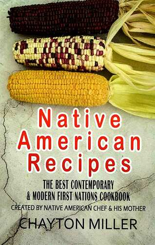 Native American Recipes - cover