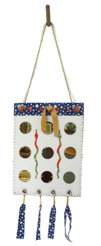 Native American Hand Made Bag: Greed - Side 2
