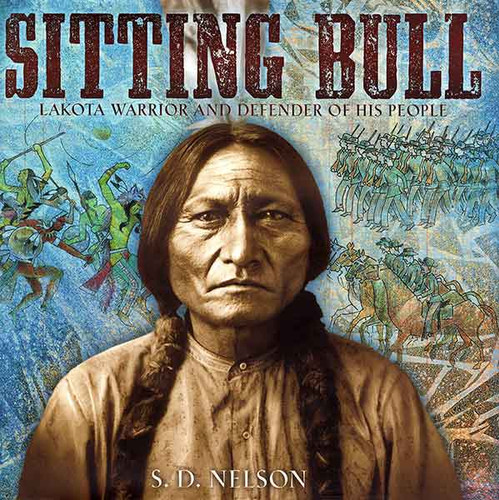 Sitting Bull children's book cover