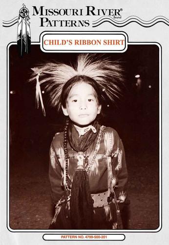 child ribbon shirt front